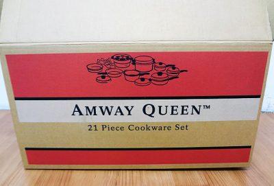 アムウェイ クィーンクックウェア21ピースセット 103821J2-1