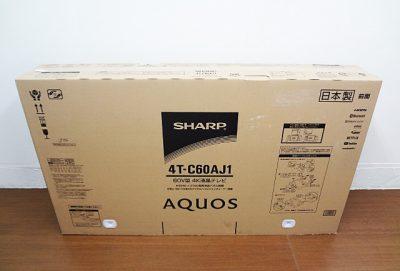 SHARP シャープ アクオス 60V型4K液晶テレビ 4T-C60AJ1-1