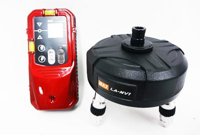 MAX マックス レーザ受光器 自動追尾台 LA-D5NV LA-NV1-1