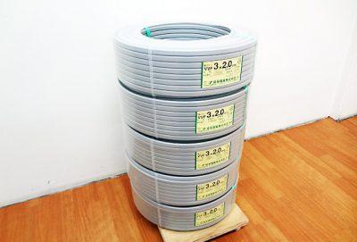 弥栄電線 Fケーブル VVF3x2.0mm-1