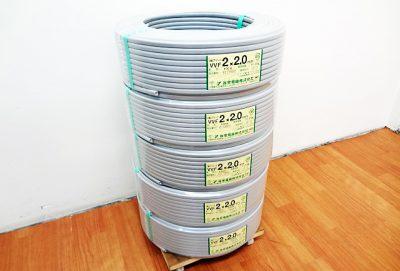 弥栄電線 Fケーブル VVF2x2.0mm-1