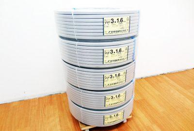 弥栄電線 VVFケーブル VVF3x1.6mm-1