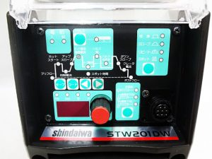 新ダイワ オールデジタル直流TIG溶接機 STW201DW-3