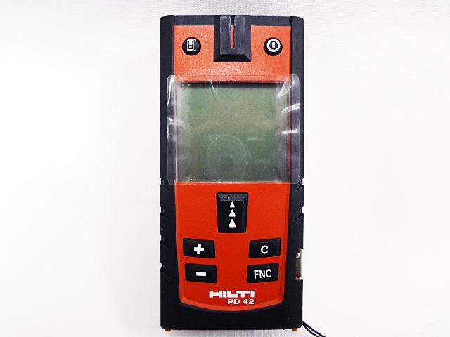 HILTI ヒルティ レーザー距離計 レーザーレンジメータ PD42-2