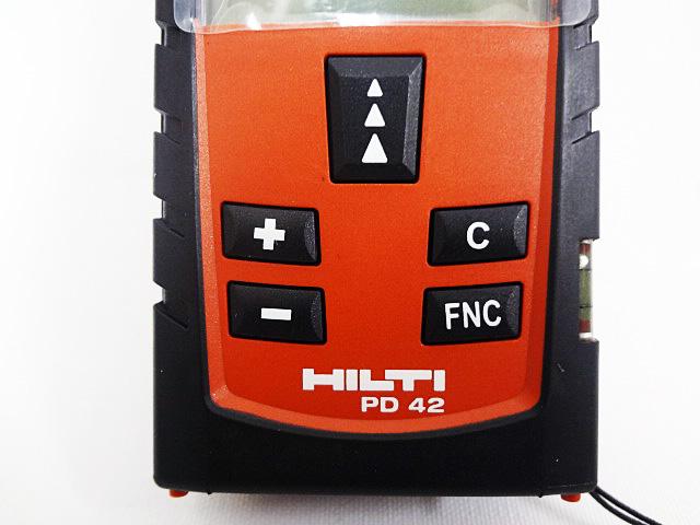 HILTI ヒルティ レーザー距離計 レーザーレンジメータ PD42-3