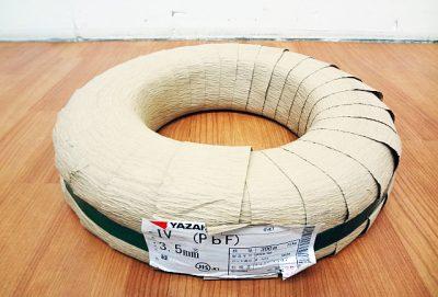 YAZAKI 矢崎電線 ビニル絶縁電線 IV3.5mm²-1