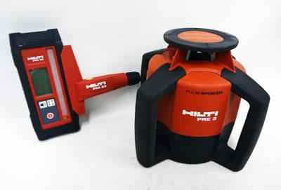 電動工具 測量工具 HILTI ヒルティ 回転レーザー PRE3-1