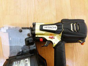 HitachiKoki 日立工機 高圧ロール釘打機 NV90HR-4