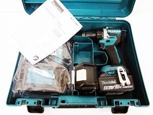 マキタ 充電式震動ドライバドリル DF484DRGX-1