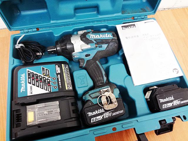 電動工具 マキタ 充電式インパクトレンチ TW1001DRGX-1