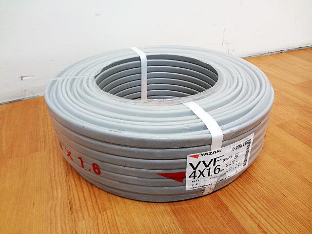 YAZAKI 矢崎電線 電力ケーブル VVF4x1.6mm-1