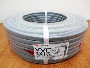 YAZAKI 矢崎電線 電力ケーブル VVF4x1.6mm-2