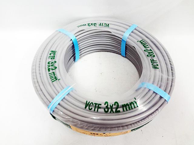 住電日立ケーブル VCTF3x2mm²-2