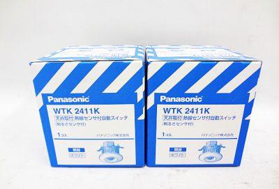 Panasonic 熱線センサ付自動スイッチ WTK2411K-1