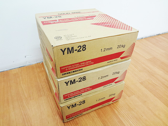 日鉄溶接工業 ソリッドワイヤ YM-28-1