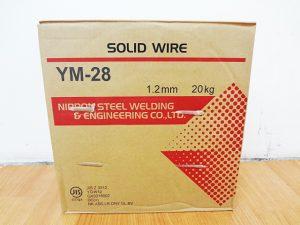 日鉄溶接工業 ソリッドワイヤ YM-28-2