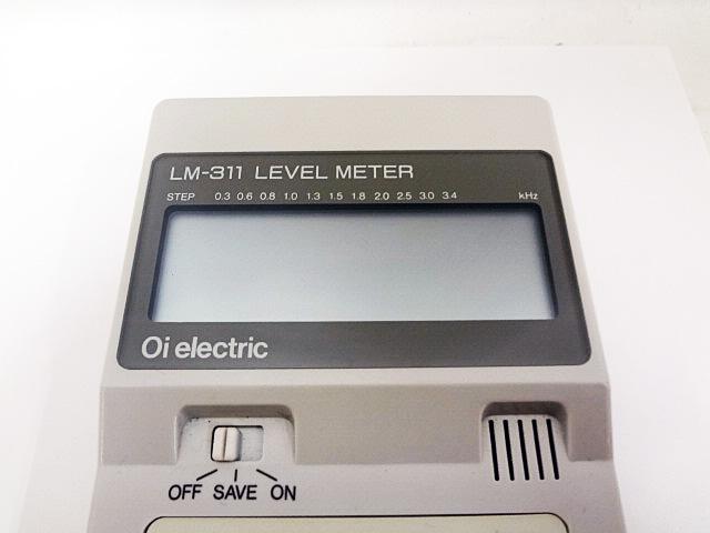大井電気 多機能レベル測定器 LM-311-2