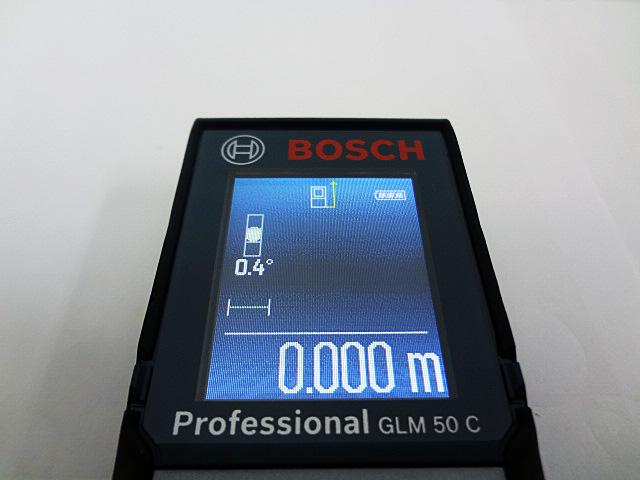 ボッシュ データ転送レーザー距離計 GLM50C-4