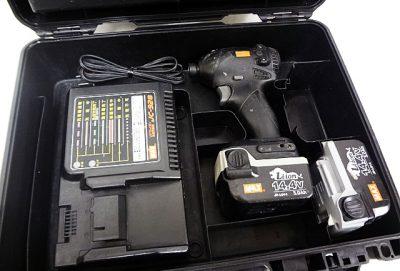 MAX 充電式ブラシレスインパクトドライバ PJ-ID144-1