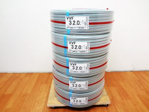 住電日立 絶縁ビニルシースケーブル VVF3x2.0mm-2