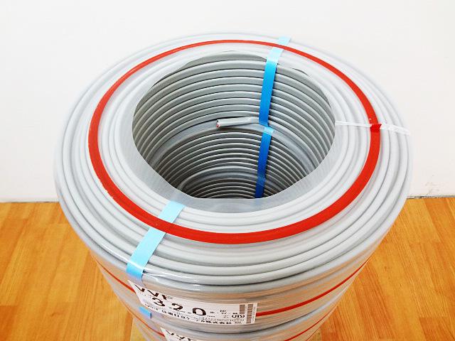 住電日立 絶縁ビニルシースケーブル VVF3x2.0mm-4
