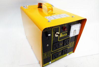 スター電器 ポータブル昇圧降圧変圧器 STX-312P-1