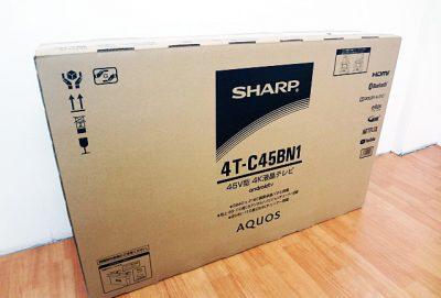 シャープ 45V型4K液晶テレビ 4T-C45BN1-1