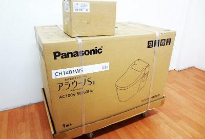 Panasonic アラウーノ 全自動おそうじトイレ CH1401WS-1