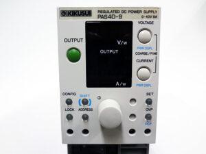 KIKUSUI コンパクト可変スイッチング電源 PAS40-9-2