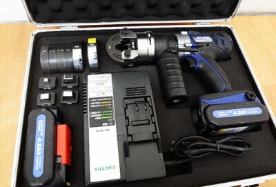 CACTUS コードレス電動油圧式圧着工具 EV-250L-1