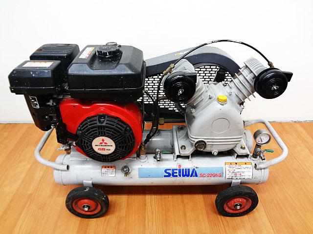 SEIWA エンジンコンプレッサー SC-22GMS-2