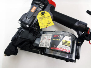 MAX 高圧コイルネイラ HN-65Z1-G 未使用品-4