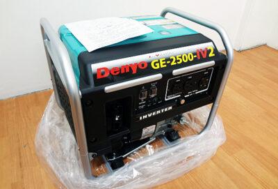 デンヨー GE-2500-Ⅳ2 インバーター発電機-1