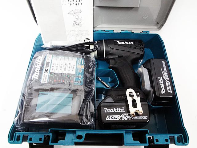 マキタ 4モードインパクトドライバ TP141DRGX-1