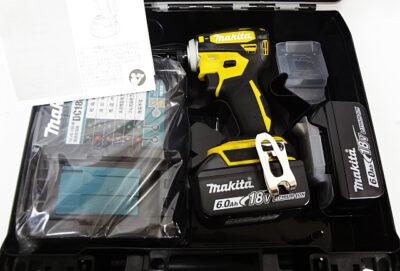 マキタ インパクトドライバ TD172DGX フレッシュイエロー1