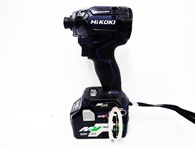 HiKOKI インパクトドライバ WH36DC ディープオーシャンブルー 2