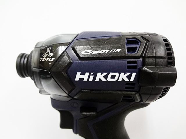 HiKOKI インパクトドライバ WH36DC ディープオーシャンブルー 3