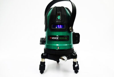 VOICE フルライングリーンレーザー墨出し器 VLG-8X-1